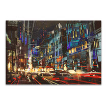 Street At Night Art Print
