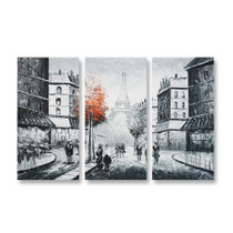 Paris Canvas Art - 3panels