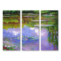 Water Lilies - 3panels