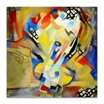 Bouquet Abstract Canvas Art Print