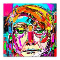 Modern Man Face Art Print