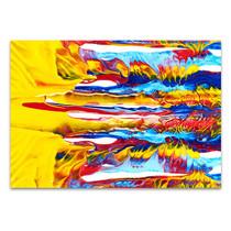 Oil Paint on Canvas Art Print