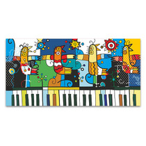 Piano and Birds Wall Art Print