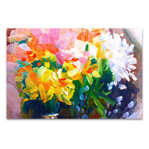 Vivid Flowers Wall Art Print