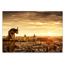 Chimera Cathedral Notre Dame Art Print