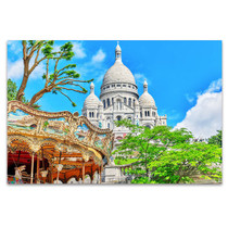 Sacre Coeur Cathedral Wall Art Print