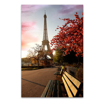 Spring Morning Eiffel Tower Art Print