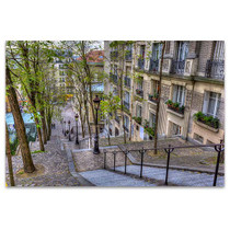 The Historic District of Montmartre Art Print
