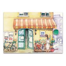 Flower Shop Wall Art Print