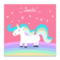 Unicorn For Kids Art Print