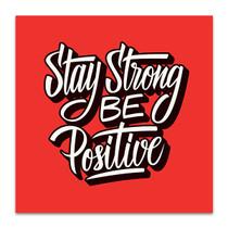 Be Positive Wall Art Print
