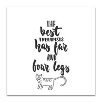 Best Therapist Wall Art Print