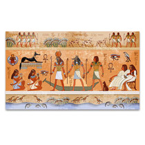 Ancient Egypt Scene Canvas Print