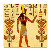 God of Ancient Egypt Art Print