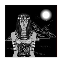 Hathor Canvas Art Print