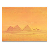 Pyramid Of Giza Wall Art Print