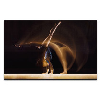 Gymnast in Motion Art Print