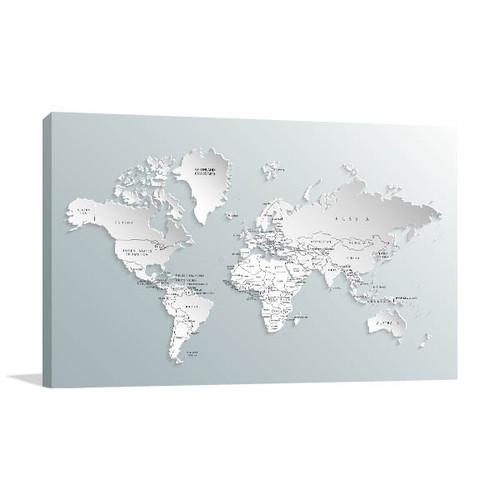 Free Map Of Australia To Print.Political Map Art Print