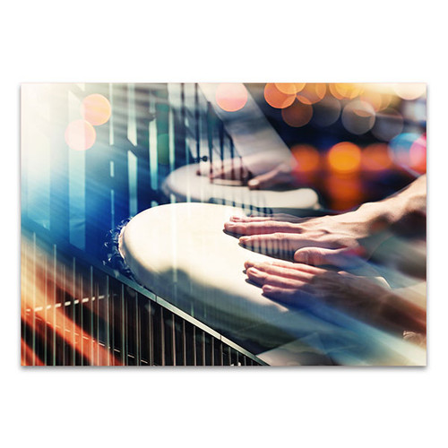 Hands On Percussion Canvas Print