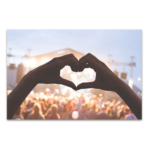 Heart Shape Canvas Print