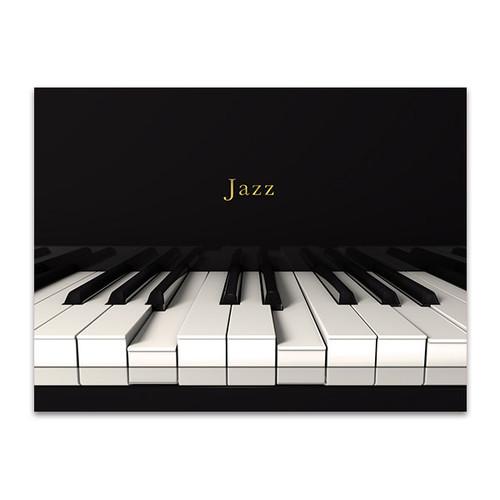 Jazz Piano Art Print