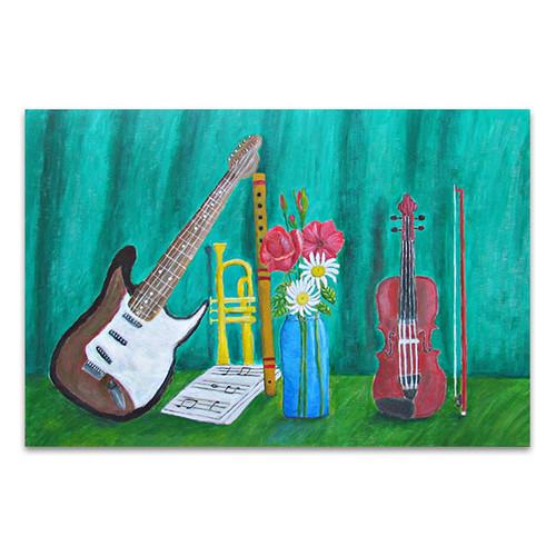 Still Life Music Art Print