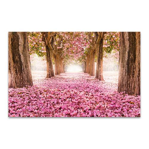 Tunnel of Pink Flower Art Print