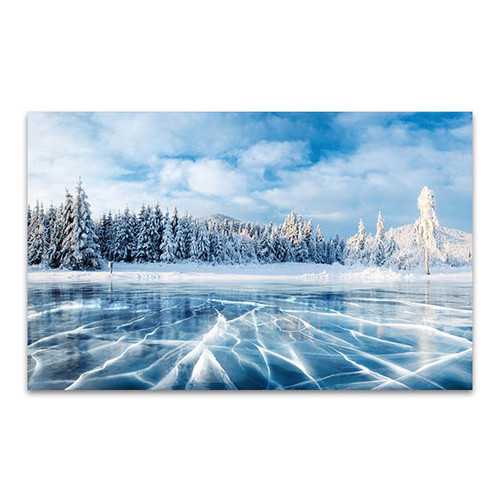 Winter Blue Sky Art Print