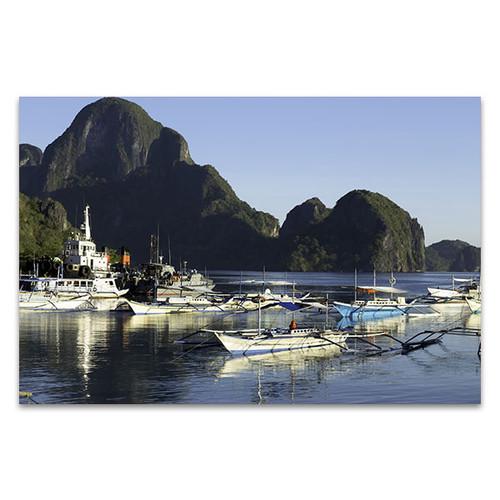 Fishing Village Canvas Print