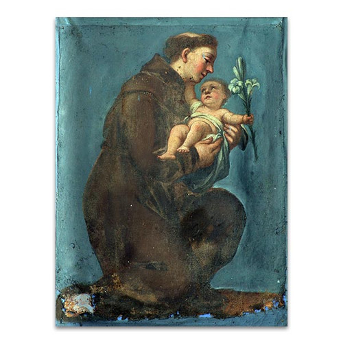 Saint Anthony Of Padua Wall Art Print