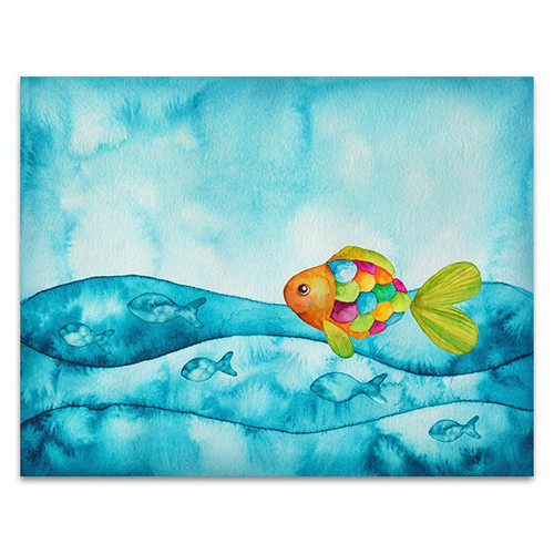 Colourful Fishes Canvas Art Print