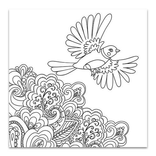 Bird Flown Canvas Print