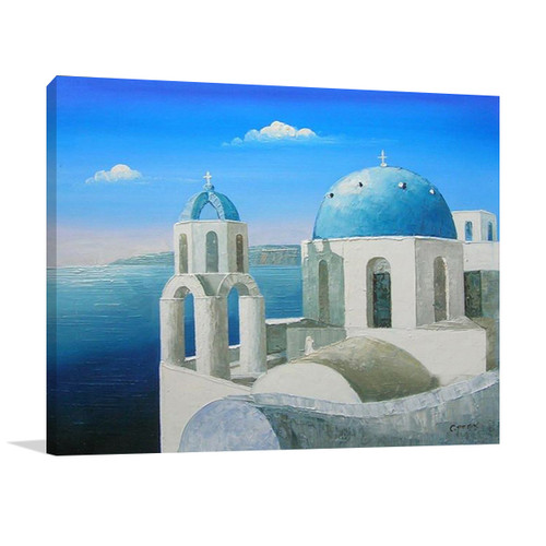 Greek Islands Large Contemporary Art And Canvases