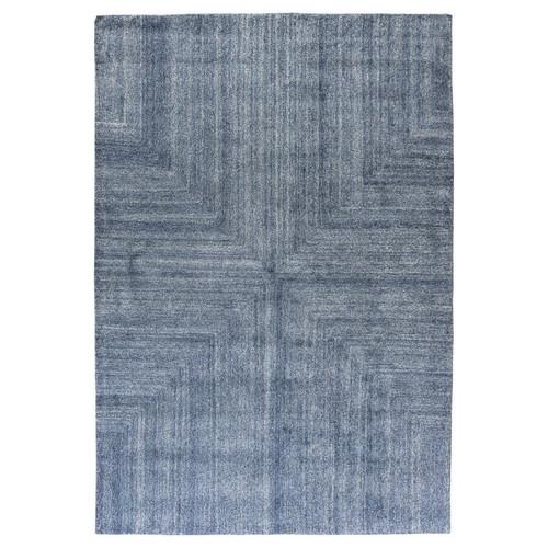 Blue Beige Nordic Modern Rugs