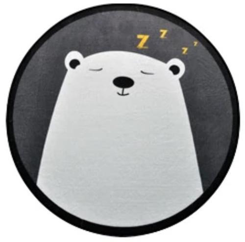 Bear Cartoon Style Rug