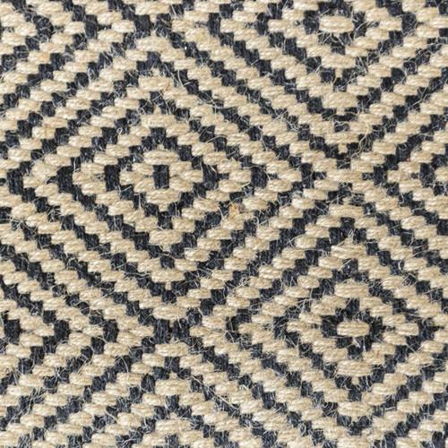 Black Sand Geometric Patterned Rugs
