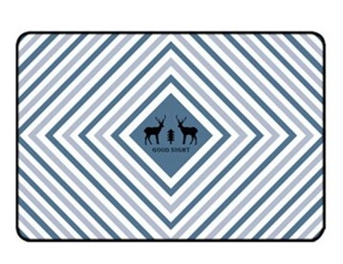 Deer Cartoon Kids Room Rug 1