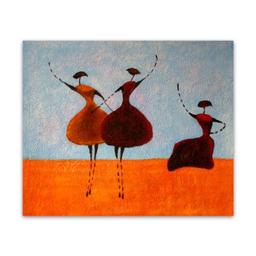 Three Ballerinas One