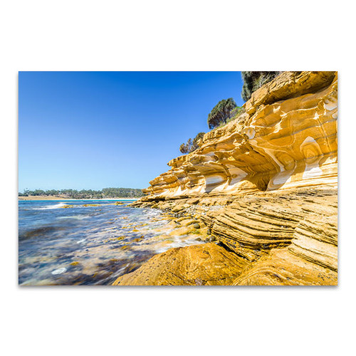 Tasmania Canvas Print Maria Island in Clear Day