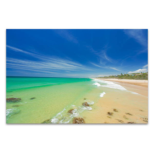 Beach Australia Sunshine Coast Art Print