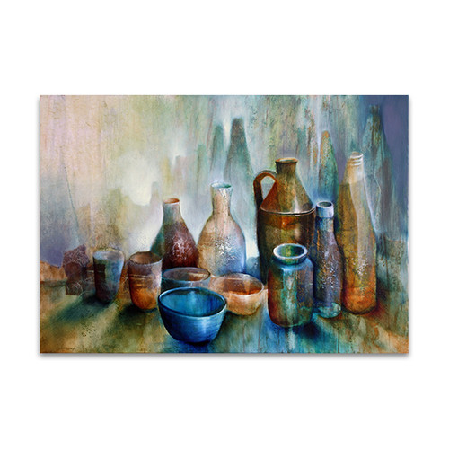 Annette Schmucker | Still Life With Blue Bowl