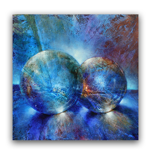 Annette Schmucker | Two Blue Marbles