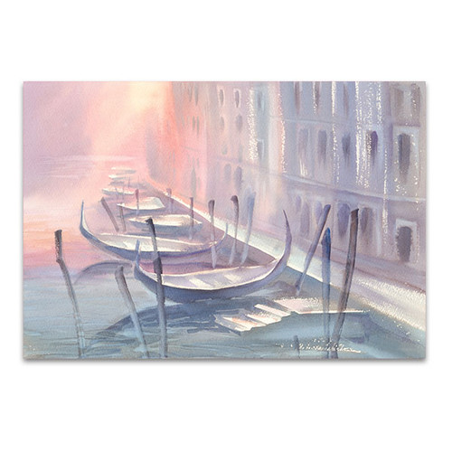 Pink Violet Gondola