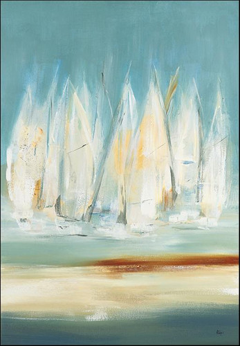 A Day to Sail I Wall Art Print, Lisa Ridgers