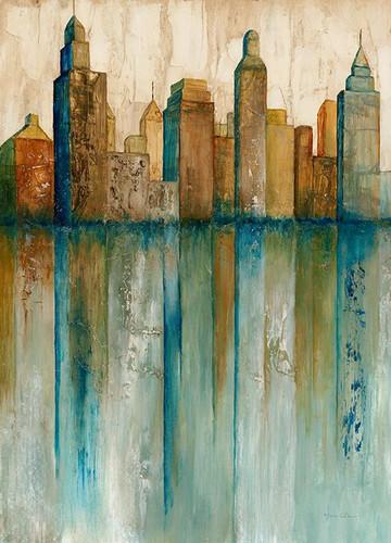 City View I Wall Art Print, Norm Olson