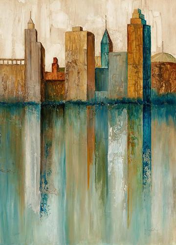 City View II Wall Art Print, Norm Olson