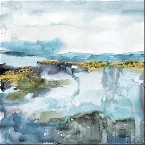 Field of Topaz Wall Art Print, Carol Robinson