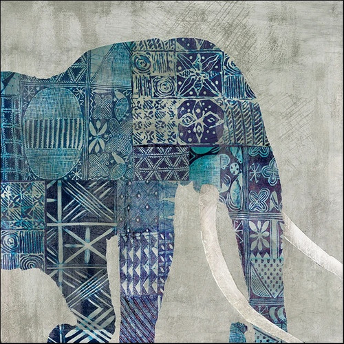 Botswana Patterns Wall Art Print