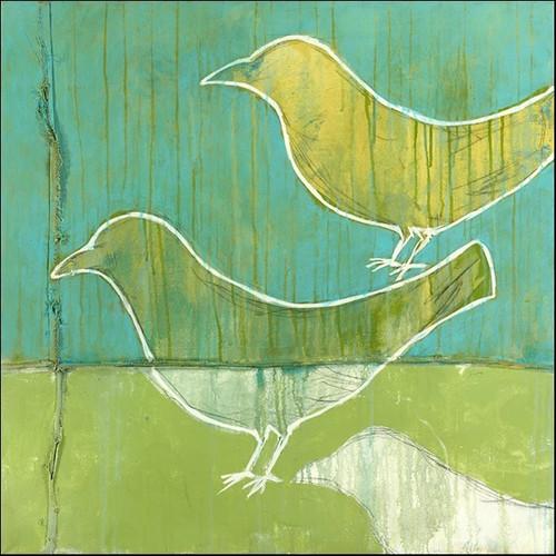 Flock Wall Art Print