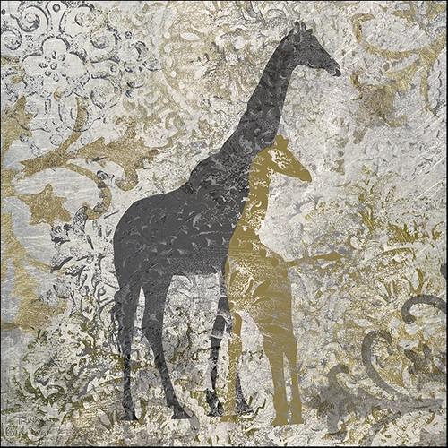 Giraffes Exotiques Wall Art Print